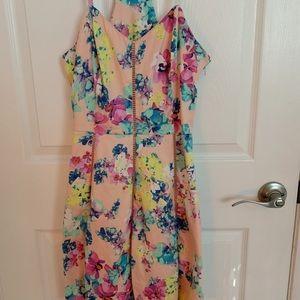 Dresses - Adorable floral fit & flare cocktail dress